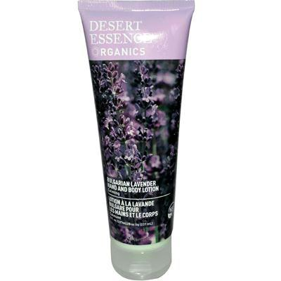 Desert Essence: Organics Hand And Body Lotion Bulgarian Lavender, 8 Oz - foodgles-supermarkets