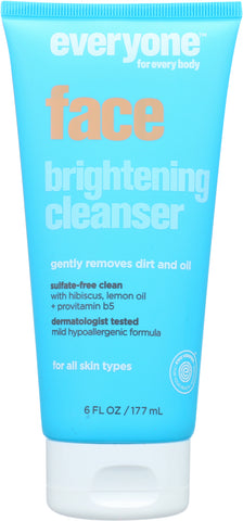 Everyone: Cleanser Face Brightening, 6 Oz - foodgles-supermarkets