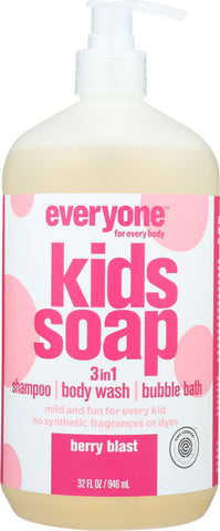 Everyone: Kids Soap Berry Blast, 32 Oz - foodgles-supermarkets