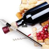 Stainless Steel Wine Chiller Rod With Wine Spout - foodgles-supermarkets