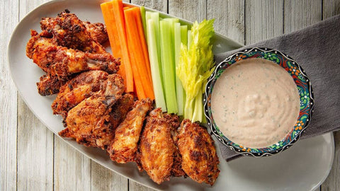 Zesty Buffalo Style Chicken Wings, 5.25 Pound -- 2 per case - foodgles-supermarkets