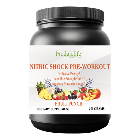 Foodglelife Nitric Shock Pre-Workout Powder - foodgles-supermarkets