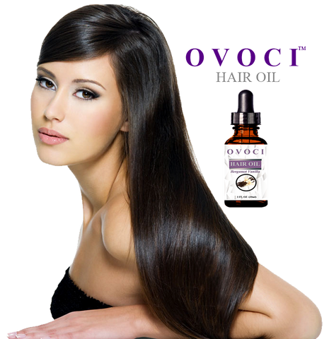 Ovoci Bergamot Vanilla Hair Oil - foodgles-supermarkets