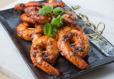 Frozen Seafood Peeled and Deveined Tail On Raw Shrimp - foodgles-supermarkets