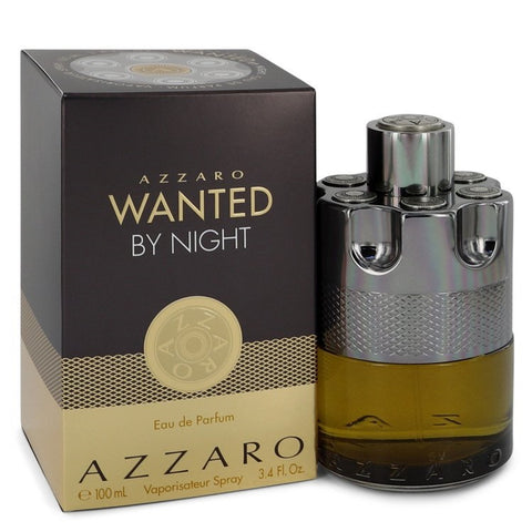 Azzaro Wanted by Night by Azzaro for Men Eau De Parfum Spray 3.4 oz - foodgles-supermarkets