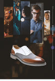 Retro Style Brogue Leather & Suede Shoes - foodgles-supermarkets