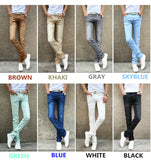 Men's New Casual Stretch Skinny Jeans - foodgles-supermarkets