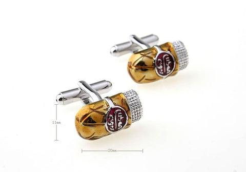 Cuban Cigar Design Cufflinks - foodgles-supermarkets