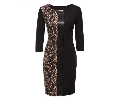 Leopard  Sheath Dress - foodgles-supermarkets