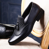 Brogue Style Slip-on Shoes - foodgles-supermarkets
