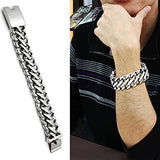 Men's Unique Stainless Steel Bracelet - foodgles-supermarkets