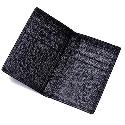 RFID Protector Genuine Leather Credit Card Holder/Wallet - foodgles-supermarkets