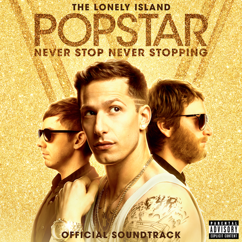 Popstar: Never Stop Never Stopping Soundtrack CD-The Lonely Island Store