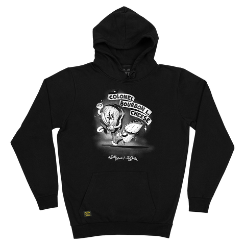 Colonel Bourbon Black Pullover Hoodie