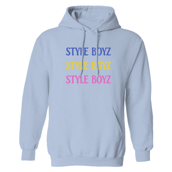 Style Boyz Hoodie - Blue-The Lonely Island Store