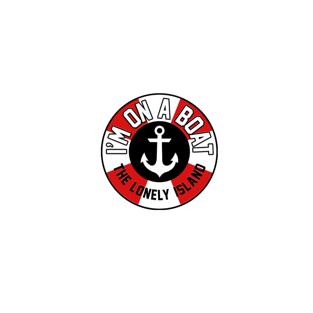 I'm on a Boat Enamel Pin-The Lonely Island Store