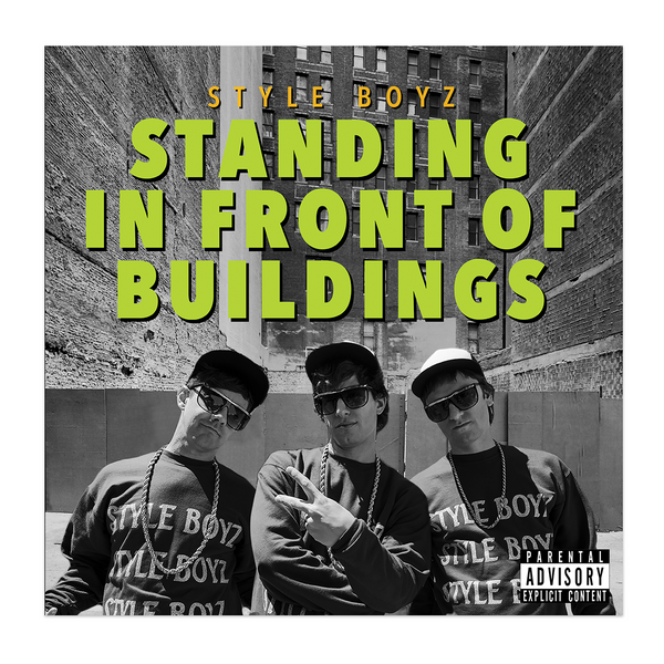 Popstar Vinyl - Standing In Front Of Buildings-The Lonely Island Store
