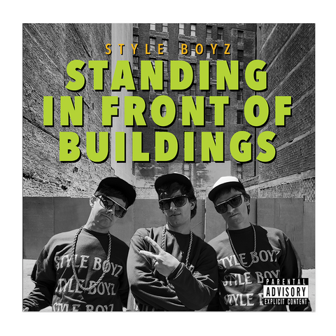 Popstar Vinyl - Standing In Front Of Buildings