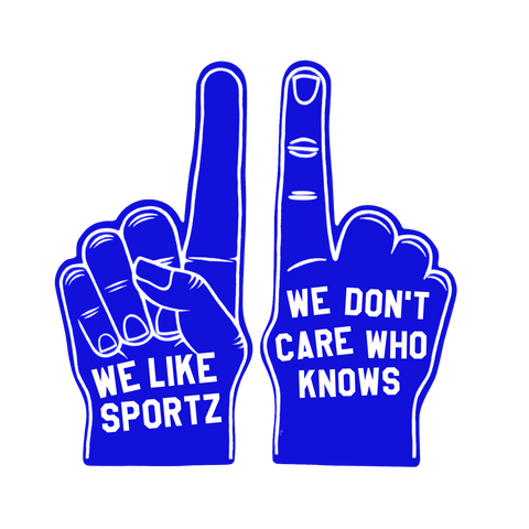 We Like Sportz Foam Finger