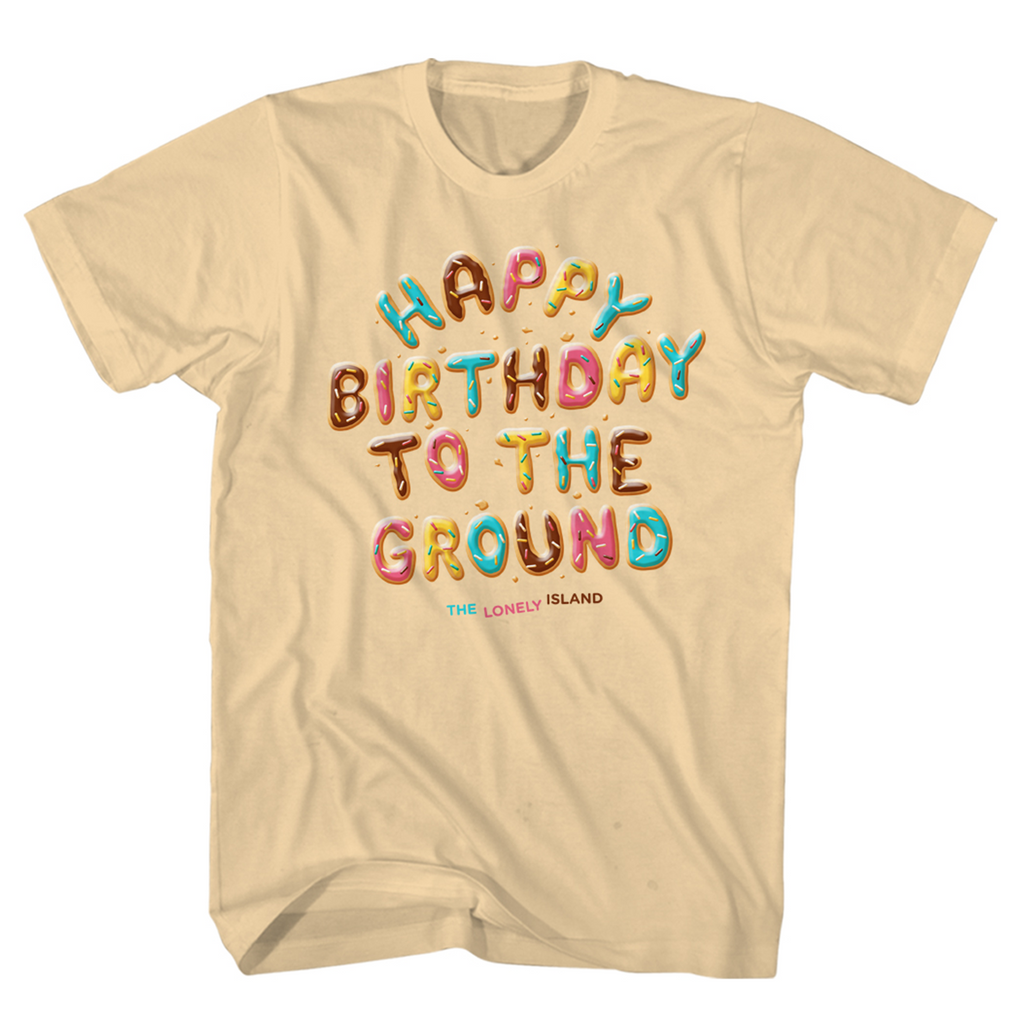 Happy Birthday to the Ground Tee - Natural-The Lonely Island Store
