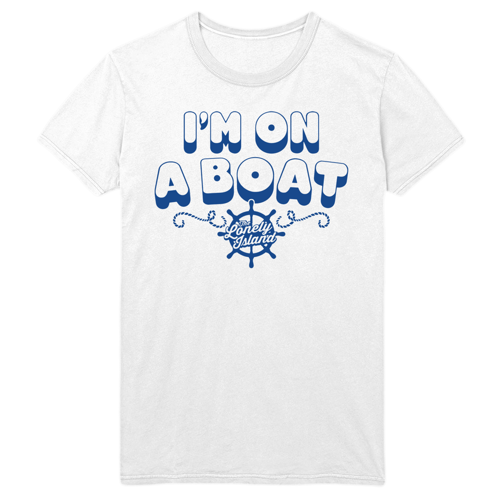 I'm On A Boat Tee-The Lonely Island Store
