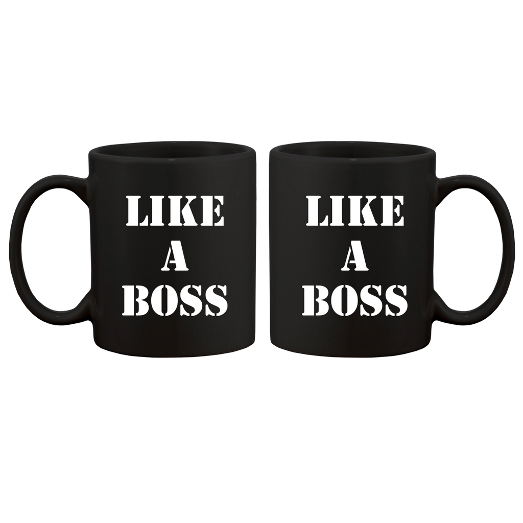 Like A Boss Mug-The Lonely Island Store