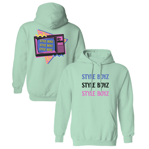 Style Boyz Hoodie - Mint-The Lonely Island Store