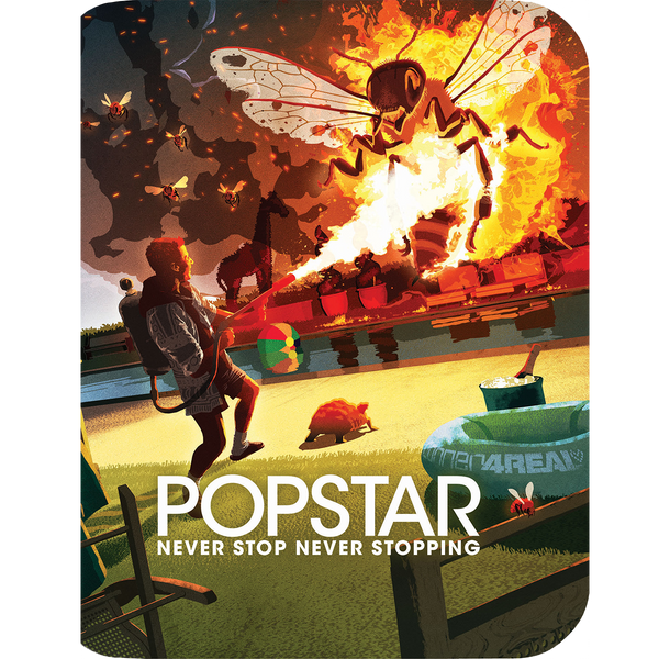 Popstar: Never Stop Never Stopping (Limited Edition Steelbook) + Lithograph-The Lonely Island Store