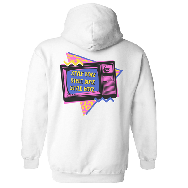 Style Boyz Hoodie - White-The Lonely Island Store