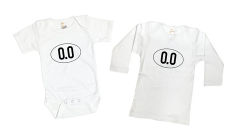 0.0 Marathon Runner Tee Shirt or Bodysuit