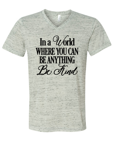 Be Kind Inspirational Graphic Tee Shirt
