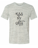 Kiss My Grits Southern Graphic Tee Shirt