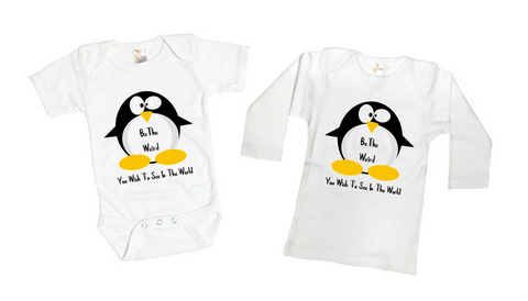Penguin Inspirational Tee Shirt or Bodysuit