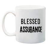 Blessed Assurance Christian Coffee Mug