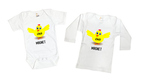 Chick Magnet Funny Tee Shirt or Bodysuit