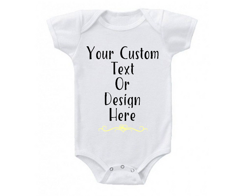 Custom Kids Tee Shirt or Baby Bodysuit