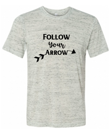 Follow Your Arrow Graphic Tee Shirt