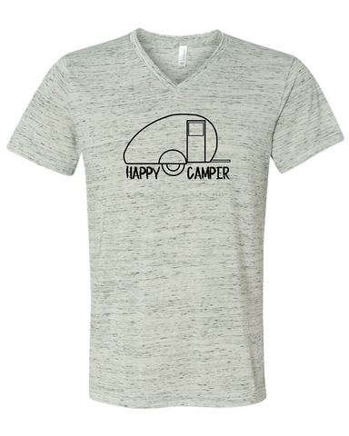 Happy Camper Graphic Tee Shirt