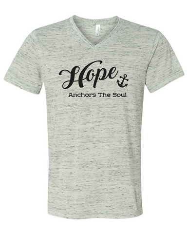Love Anchors the Soul Graphic Tee Shirt