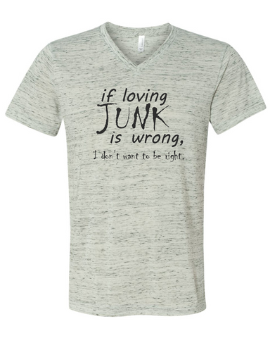 Junkin Funny Antique Picker Graphic Tee Shirt