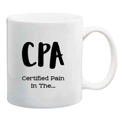 CPA Accountant Funny Coffee Mug
