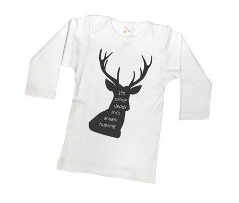 Dad's Hunting Buddy Tee or Bodysuit