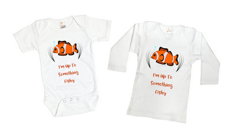 Fishy Kid Tee Shirt or Bodysuit