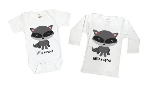 Lil' Raccoon Rascal Shirt or Bodysuit