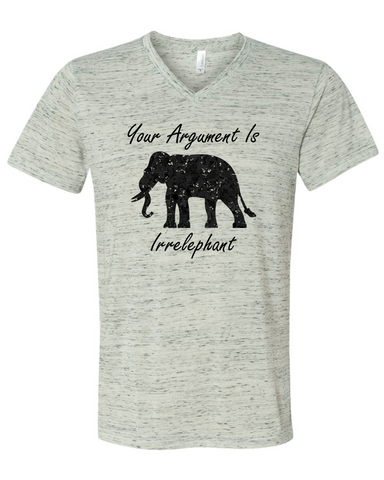Your Argument Is Irrelephant Graphic Tee Shirt