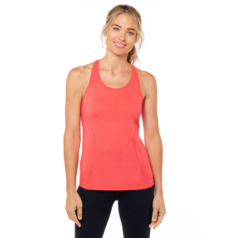 S Seam Tank Red Color - Zahri