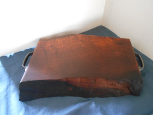 Live Edge Mesquite Cutting Board or Serving Piece 2 1/2