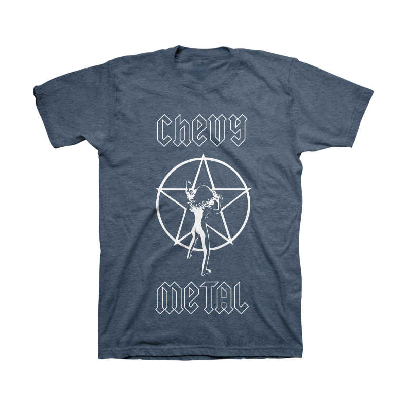 Rush Unisex Tee (Heather Navy) -