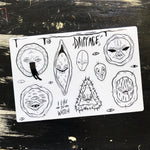 CREEP STREET - sticker sheet