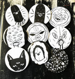 THE STRANGERS button set - you choose designs